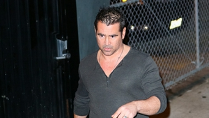 Colin Farrell showed his Abrakebabra black card on the talk show