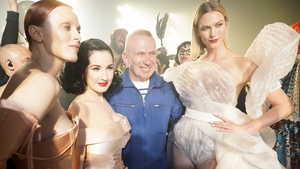 The legendary French designer held his final runway show at Paris Haute Couture Fashion Week, after 50 years in the business.