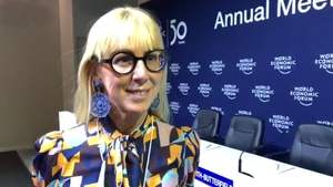 Caroline Casey, from the Valuable 500 business-led initiative started the campaign in Davos last year