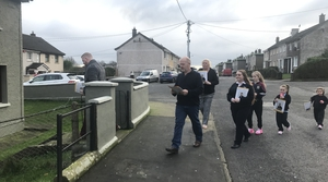TJ Hogan on the campaign trail in Cork North Central