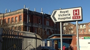 A patient arrived at the Royal Victoria over the weekend showing symptoms that may be associated with the virus
