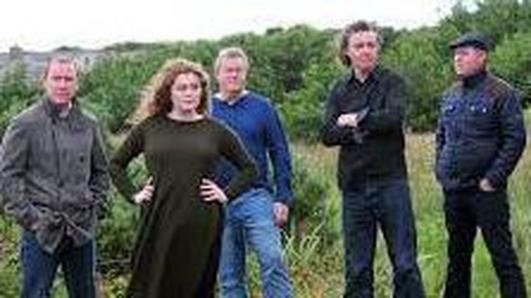 Clann Mhic Ruairí - Tony, Hughie, Seán, Dónal agus Megan.