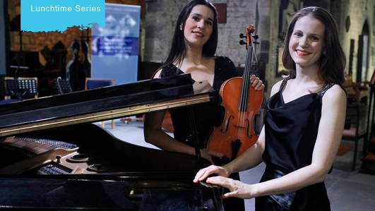Music for Galway Lunchtime Series - Andreea Banciu and Aileen Cahill