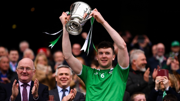Declan Hannon lifted the trophy for Limerick last year