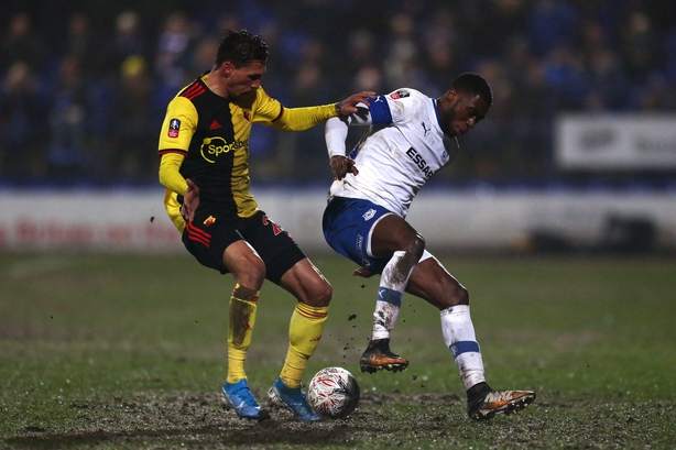 Tranmere dump Watford out FA Cup to set up Man United clash