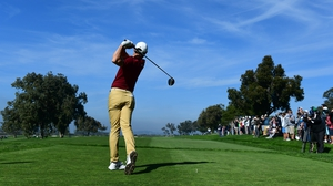 Rory McIlroy is one off the lead in San Diego