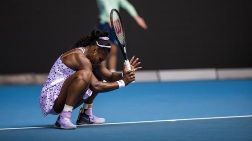 Serena Williams is stuck on 23