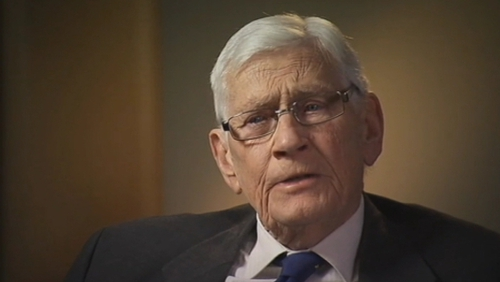 Seamus Mallon was an architect of the Northern Ireland peace process