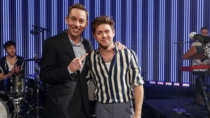 Niall Horan is welcomed by Ryan Tubridy to Friday's Late Late Show Late Late photos: Andres Poveda