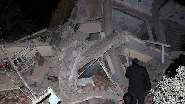 8 magnitude quake shakes eastern Turkey, collapsing several buildings