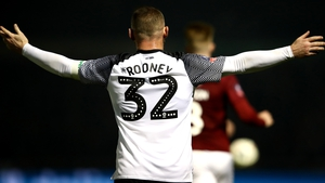 Wayne Rooney could not find a way past Northampton