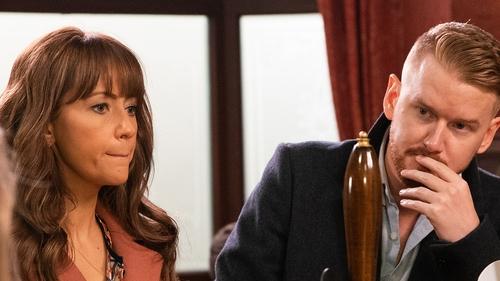 Samia Longchambon as Maria and Mikey North as Gary