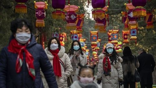 The week-long Lunar New Year holiday began today