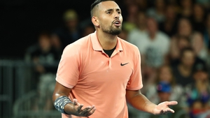 Kyrgios has been riding a rare wave of positivity in his homeland
