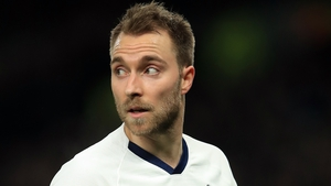 Christian Eriksen is out of contract at the end of the season