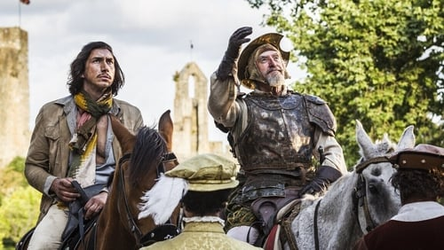 It's our two leads (Adam Driver and Jonathan Pryce) who save the day