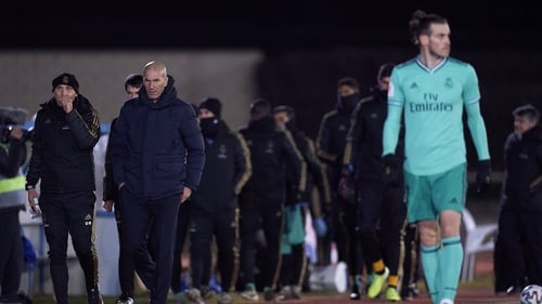 'He wants to be with the team, he wants to play,' Zidane says of Bale