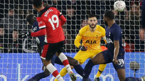 Sofiane Boufal netted the Southampton equaliser late on