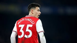 Gabriel Martinelli made a goalscoring impact against Chelsea