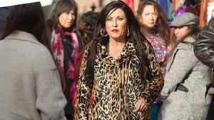 Jessie Wallace as Kat Moon in Eastenders