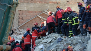 The search for survivors continues in Elazig provinc