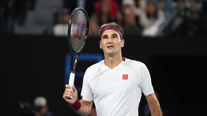 Federer struggled with injury at the 2020 Australian Open, where he made a semi-final exit to eventual champion Novak Djokovic, and has not played since