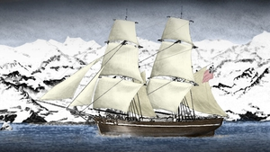 Bransfield sailed the William ship to reach Antarctica