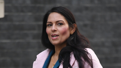 Priti Patel rejects the allegations made by Philip Rutnam