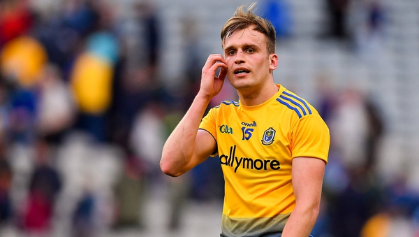 Enda Smith led Roscommon from the middle