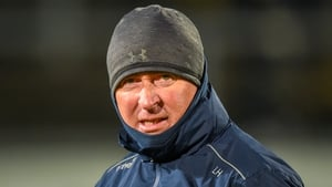 Lenny Harbinson was appointed Antrim football manager in 2017 on a three-year term