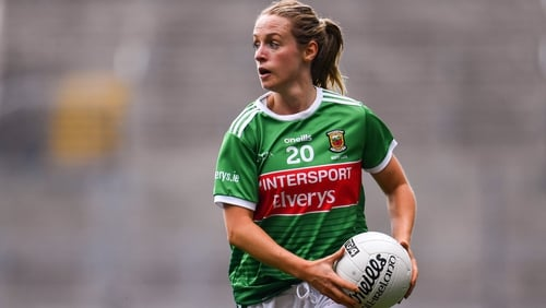 Lisa Cafferky fired home two goals for Mayo