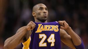 Kobe Bryant won five NBA titles during a glittering basketball career
