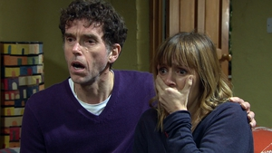 Horror for Rhona as she finds out Graham has been murdered