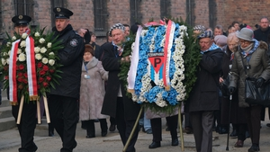 Two ceremonies marked the 75th anniversary of the liberation of Auschwitz in German-occupied Poland by Soviet forces