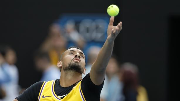 Australian Open: Rafael Nadal beats Nick Kyrgios