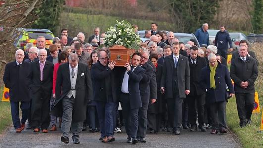 Funeral Of Seamus Mallon