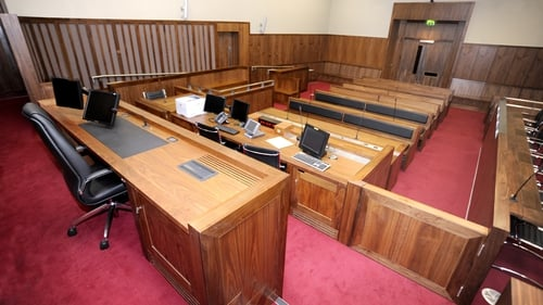 How would social distancing work inside the Courts of Criminal Justice in Dublin? Photo: Sasko Lazar/Rolling News