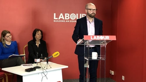 Labour's Ged Nash said he was not persuaded that a constitutional amendment would be required to give workers the right to join a union, but they would call a referendum if that was the case