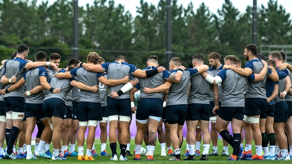 Andy Farrell will announce his team at lunchtime on Tuesday