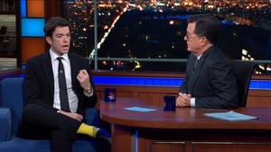John Mulaney is stunned by Colbert's questions on anxiety
