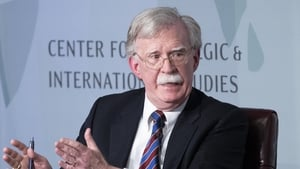 News reports say John Bolton has written a book that undercuts Donald Trump's version of events