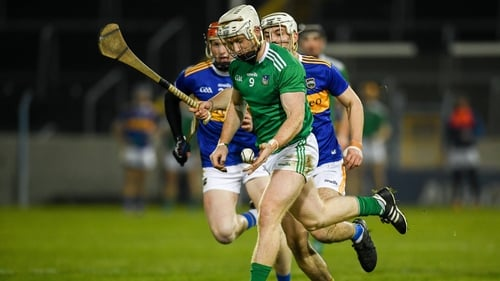 No hurley, no problem - Cian Lynch in action on Saturday at Thurles