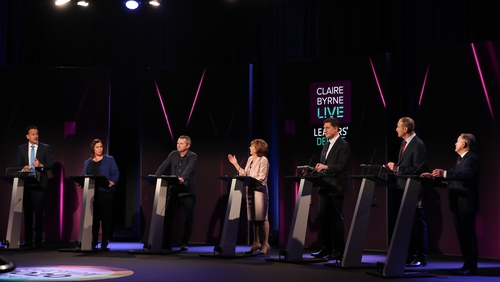 Housing, farming, Garda stations and coalition partners were the big talking points in last night's debate