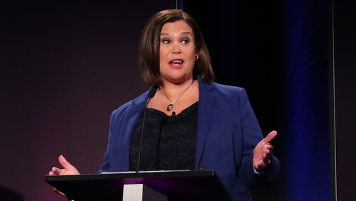 Sinn Féin asked for Mary Lou McDonald to be allowed to participate in the Prime Time debate