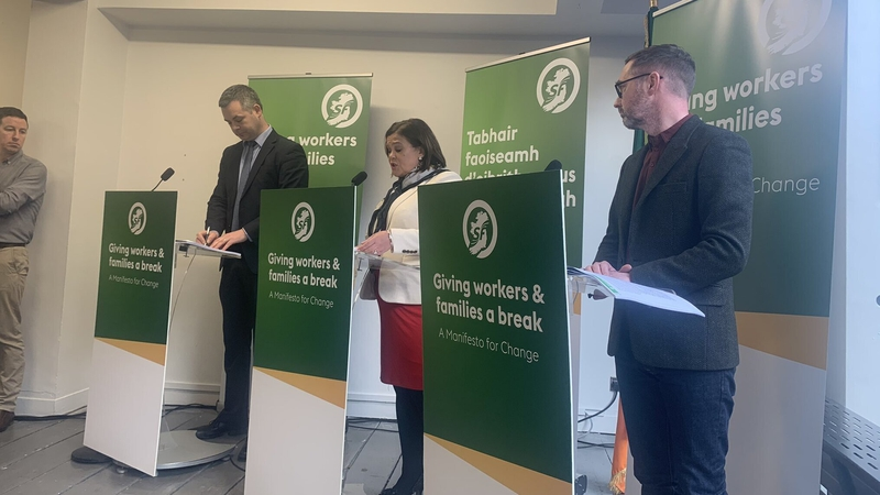 USC, health & housing at centre of Sinn Féin manifesto