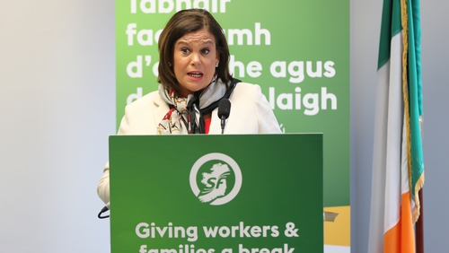 Sinn Féin is committing to a major house-building programme, while it will also invest in health and cut the Universal Social Charge