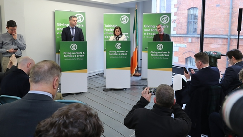 Sinn Féin says it can implement its policies while maintaining a budget surplus