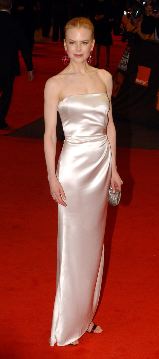 Nicole Kidman at the 2003 Baftas (Yui Mok/PA)