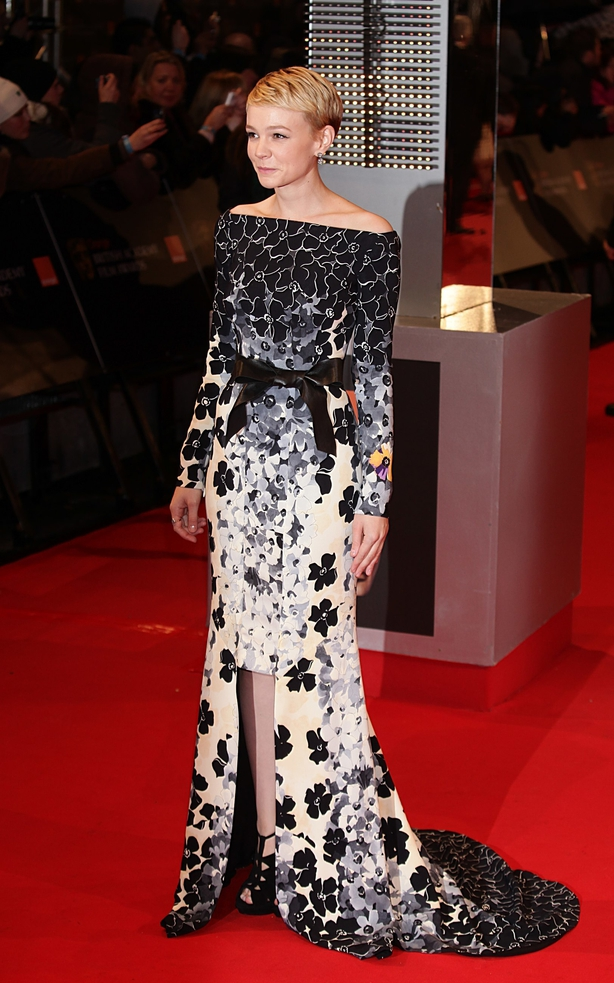 Carey Mulligan at the 2010 Baftas (Yui Mok/PA)