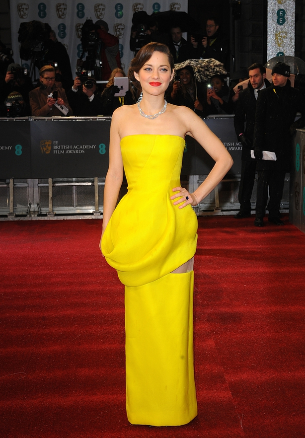 Marion Cotillard at the 2013 Baftas (Ian West/PA)